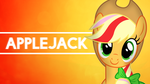Applejack - Rainbow by Sprakle