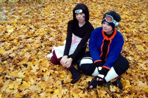 Obito, Rin - Once upon a dream by aggestardust