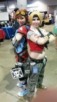 Gaige and Janey Springs at Momocon 2015 by TheEvilestTeddy