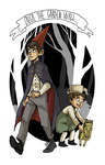 Over the garden wall by LilyScribbles