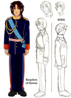 Kingdom of Hawaii Ref by anotakuami