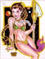 SLAVE PRINCESS LEIA by RODEL MARTIN (01232016) by rodelsm21