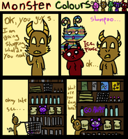 Monster Colours three by kitkatblack