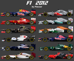 F1 2012 by pieczaro