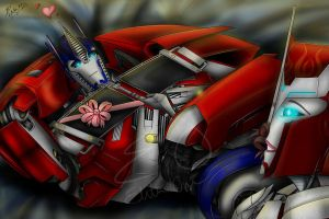 Oh My......! O.. Optimus? by Lady-Elita-1