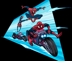 Marvel Infinite Comics: Ultimate Spider-Man 12 by LucianoVecchio