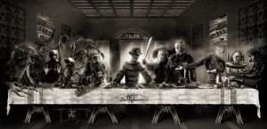 The last supper by mace696