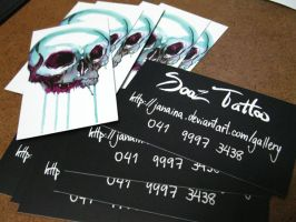 business cards 1 by Janaina