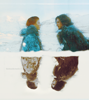 Ygritte and Jon by Linds37