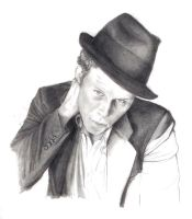 Tom Waits WIP by SunlessDay
