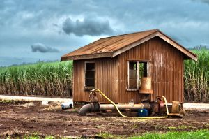 Farm Pump House HDR by GrantDixon