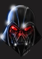 Darth Vader by octoart