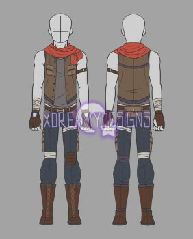 Custom Clothing Commission for Zaneth_Wolfbane by xDreamyDesigns