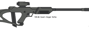 Covert Sniper Rifle by omegafactor90