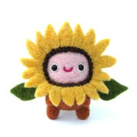 Costume Party - Kid in a Sunflower Suit by Poopycakes-makes