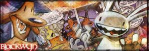 Sam and Max Signature by Blackwyn