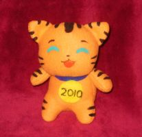 Year of the Tiger plushie by StitchyGirl