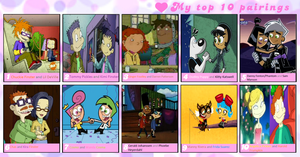 My Top 10 Nickelodeon Couples (2014 Version) by WG2020TV