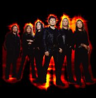 Iron Maiden's on Fire by Chip8088