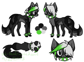Snowpelt1236 Reference Sheet Commission by ThisAccountIsDead462