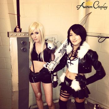 Akon 2013 Cosplay: Female Cloud and Femal... by AurumCosplay
