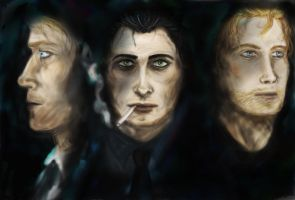 Men of Shadow by leaazian