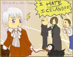 APH Don't hate chibi Iceland by WirelessHamster