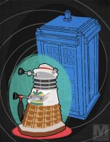 The Seventh Doctor Dalek by MeghanMurphy