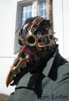 Steampunk Plague Doctor Mask by Epic-Leather