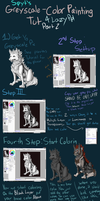 Greyscale Painting Tutorial 2 by SpytDragonFyre