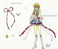 Elyon Brown, Sailormeridian by Sokai-Sama