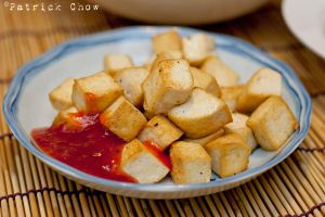 Fried tofu by patchow