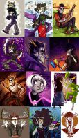 Homestuck dump 5 by SIIINS