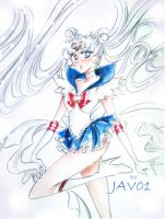 sailor moon Princess by zelldinchit