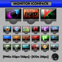 Monitor Iconpack by ozkc1