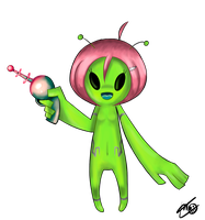 Orion la Little Green Men by ElIdiotaDeKai