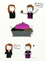 Clint and the Awful Cupcake by Cmurray44