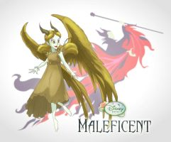 Disney Fairies: Maleficent by magnomalo