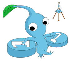 Light Blue Pikmin by nintendo128