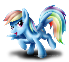 Rainbow Dash by Groxy-Cyber-Soul
