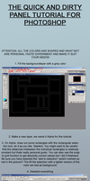 Panels in Photoshop tutorial by Chukkz