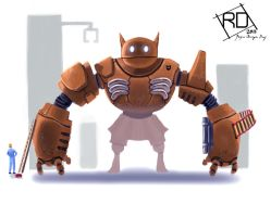 cat robot by RoyCeDiaZ