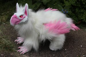 Vius the Griffin Artdoll by Creature-Cave