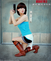 Her Last Escape-RE3 Jill Valentine Cosplay by Hamm-Sammich