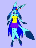 Snowangel as a Glaceon by Bioblood