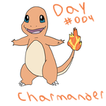 Day 004 Charmander by GiygasBandicoot