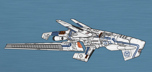 Union Scout Destroyer - Type II by firestrike2