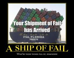 Ship demotivational poster by Weirddudeguy