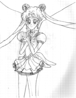 Eternal Sailor Moon by PrettySoldierPetite