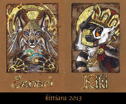 Badges 2013 - 4 by kittiara